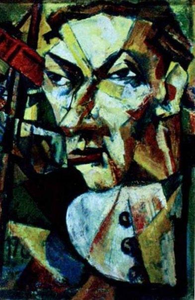 Marcel IANCU | Portret de barbat | cca. 1922-1924