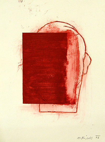 Alois RIEDL | Ohne Titel - Rot V | 2006