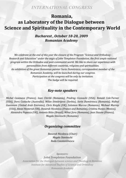 Congress_ROMANIA_SCIENCE_AND_SPIRITUALITY