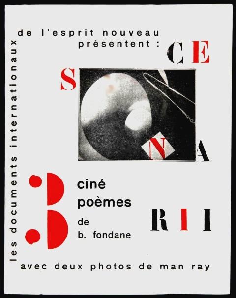 Benjamin FONDANE | Trois scenarii. Cinépoèmes | 1928