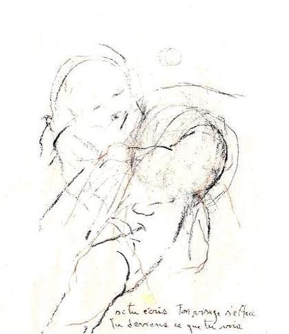 Michel MADORE | Si tu écris, ton visage s'efface... | 2000
